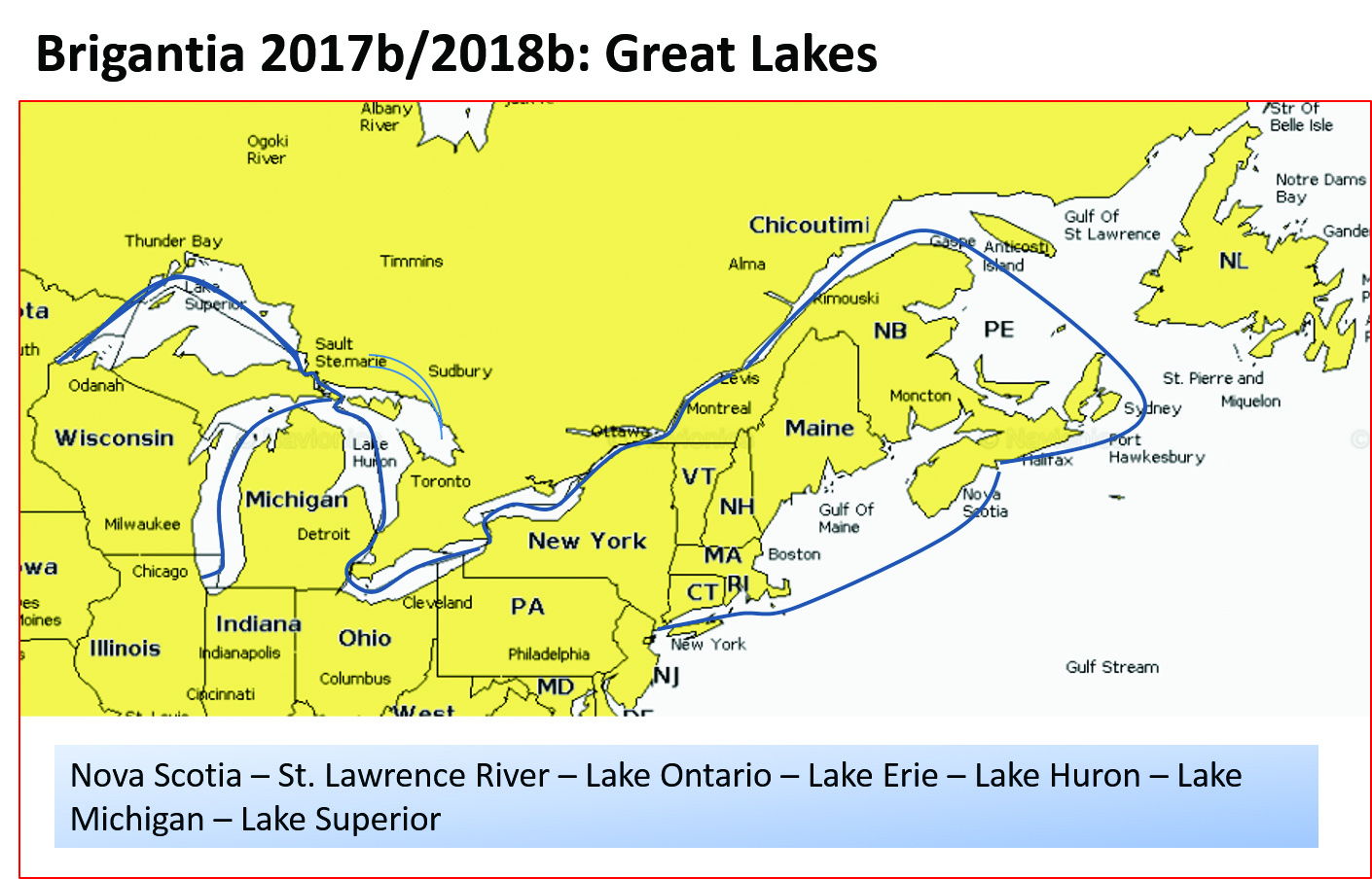 Great Lakes Törn
